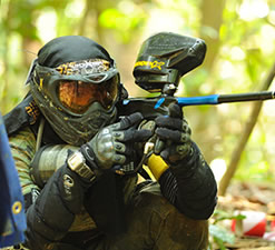Paintball tactico para empresas
